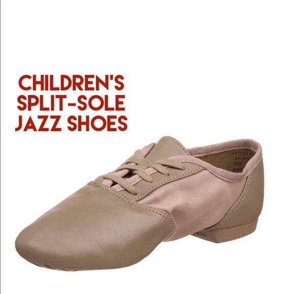 NIB Capezio Cobra Leather Split-Sole Ballet Slipper Children Sizes